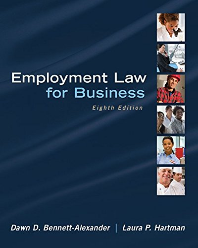 Employment Law for Business (Irwin Business Law) PDF