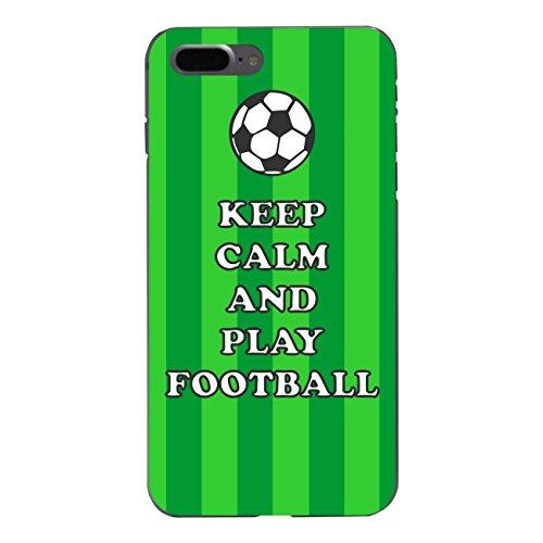 "Disagu Design Case Coque pour Apple iPhone 7 Plus Housse etui coque pochette ""KEEP CALM AND PLAY FOOTBALL"""
