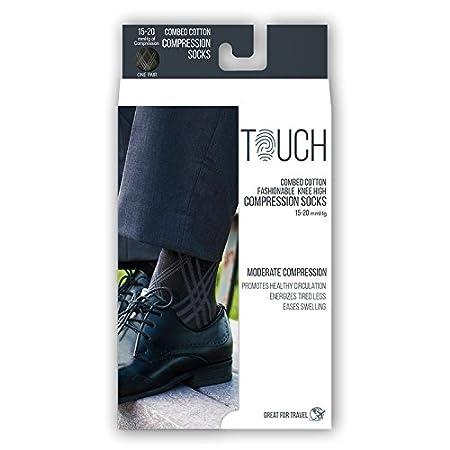 b7b39302e Amazon.com  TOUCH Compression Socks for Men