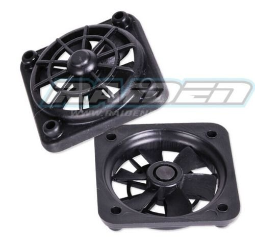 1/10 Scale RC Crawler Short Course Accessory Realistic Cooling Fan for SLASH Twin Hammers HSP SC Raidenracing