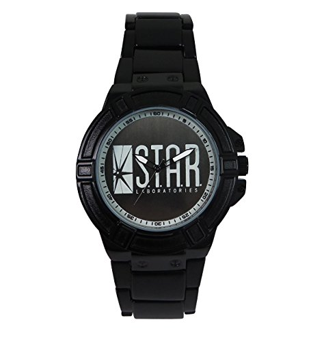 Flash Star Labs Logo Metal Band Wrist Watch - Round Logo Watch
