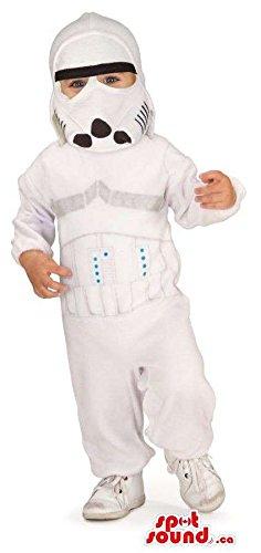 Star Trooper Star Wars Movie Character Children Size Costume
