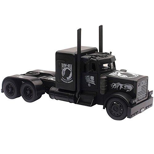 Peterbilt 379 Black Out Truck POW-MIA 1:32 Scale