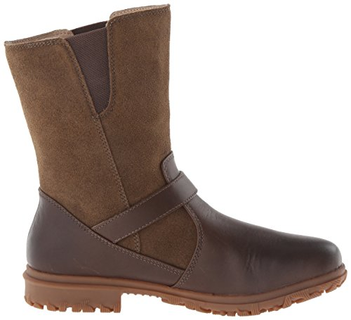 Women's Bogs Boot Waterproof Mid Bobby Motorcycle Cocoa fwdvqwCn