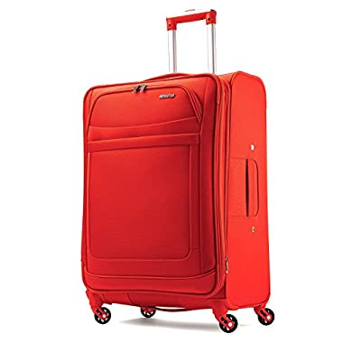American Tourister Ilite Max Softside Spinner 25 Suitcases, Tangerine