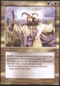 Magic: the Gathering - Angus Mackenzie - Legends by Magic: the Gathering