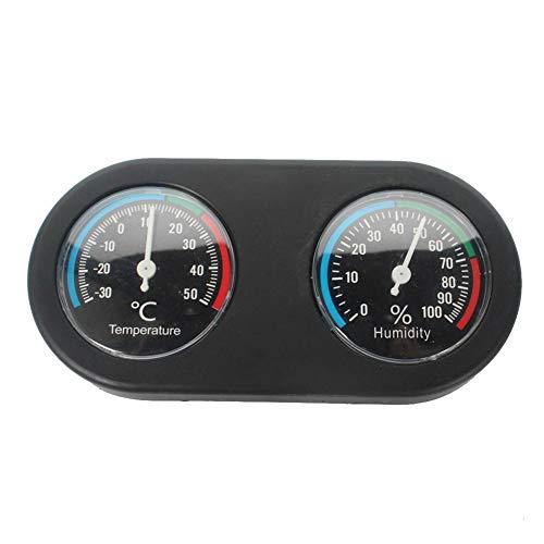 Terrarium Reptiles Thermometer Hygrometer Round Analog Thermo Hygrometer ()