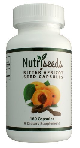 Raw Bitter Apricot Seeds 180 Count (Apricot Seed Powder)
