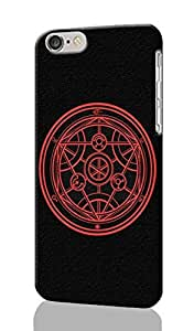 Transmutation Circle Pattern Image - Protective 3d Rough Case Cover - Hard Plastic 3D Case - For iphone 5C -