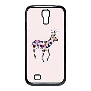 DIY DEER Theme Phone Case Fit To Samsung Galaxy S4 I9500 , A Good Gift To Your Family And Friends