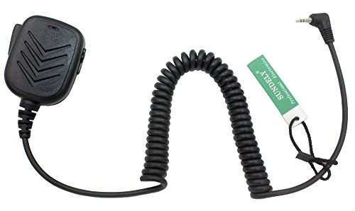 SUNDELY® Hand Held Shoulder Mic with Speaker for Cobra Micro-Talk 2 Two Radio Walkie Talkie CXT85 CXR750 PR5060 1-pin (122-014-0)