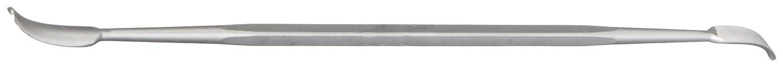 Swiss Pattern Nicholson Die Sinkers Riffler File 6-1//2 Length #2 Coarseness Double Cut Style 7 Shape