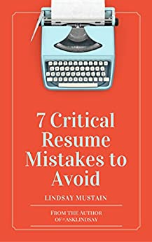 7 critical resume mistakes to avoid ebook