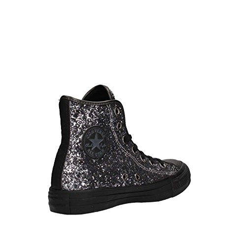 Thunder Montantes Glitter Brunito Tex Hi All Femme Baskets Star Converse Black v1qan
