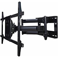 UAXX-800 Dual Arm Articulating Wall Mount for 60 65 70 75 80 84 85 LED TV, LCD TV with a 36 extension