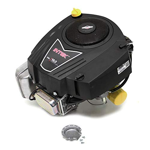 Briggs & Stratton 33R877-0003-G1 540cc 19 Gross HP Intek Vertical OHV Engine with 1-Inch Diameter by 3-5/32-Inch Length Crankshaft Tapped ()