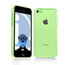 iTALKonline Hard Solid Super Slim PolyCarbonate Clear (Transparent) Crystal Case Cover For Apple iPhone 5C (2013)