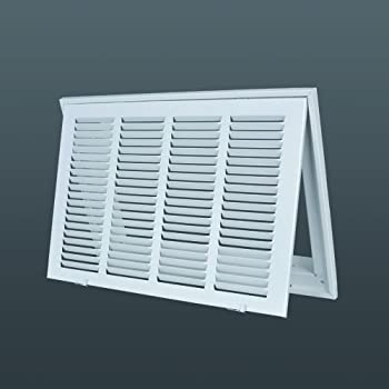 Steel Return Filter Grille Stamped Face 24 Quot X 18 Quot Duct