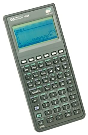 HP HP48GX RPN Expandable Graphic Calculator
