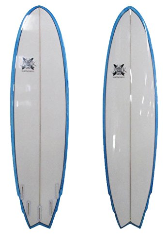 The Big Boy Fish 7ft 3in 22in x 3in Surfboard by JK Surfboards Made Locally 7ft by JK Surfboards