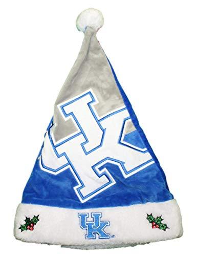 Forever Collectibles Kentucky Wildcats 2018 NCAA Basic Logo Plush Christmas Santa Hat ()