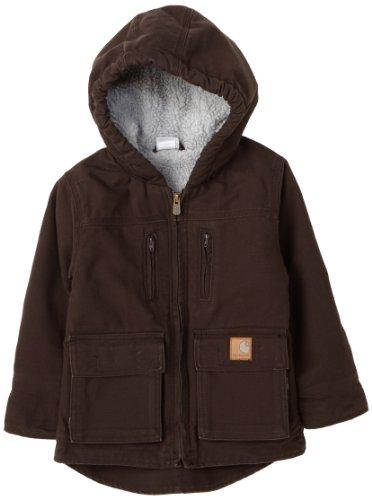 Carhartt  Big Boys' Jackson Kids Jacket,Mustang Brown,S(8-10)
