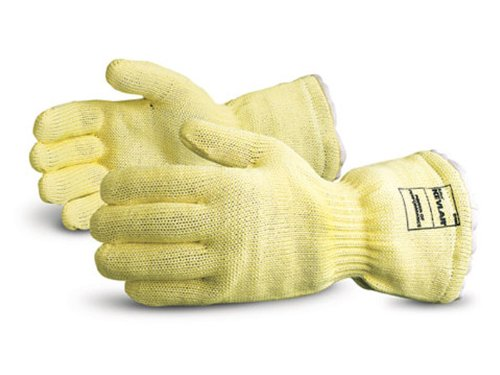 """Superior K835KP-16 Dragon Kevlar Wool Terry Lined Extreme Hi-Heat Glove, Work, High Temperature, 16"""" Length (Pack of 1 Pair)"""