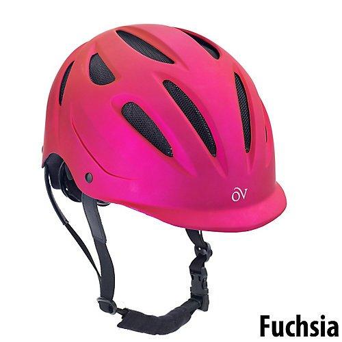 ENGLISH RIDING SUPPLY Ovation Metallic Protege Helmet XS/...
