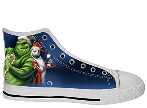 Womens Tnbc Canvas High Top Shoes Incubo Prima Di Natale Tnbc Scarpe Di Tela17