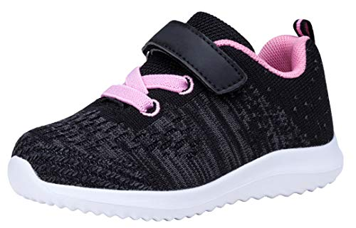 (COODO CD3010 Toddler/Little Kid Girls Shoes Running Sports Sneakers)