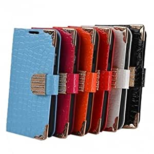 Stone Pattern PU Leather Wallet Case For Samsung Galaxy Note 2 N7100 --- Color:White
