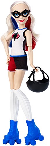 DC Super Hero Girls Harley Quinn Roller Derby Doll