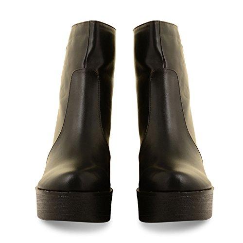 Footwear Sensation - Botas para mujer - PD6-Black PU