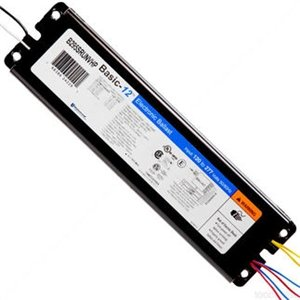 Universal #B295PUNVHE 120-277 volt Programmed Start Ballast, operates (1 or 2) F96T12HOES, F96T12HO, F84T12HO, F72T12HO, F60T12HO, F48T12HO