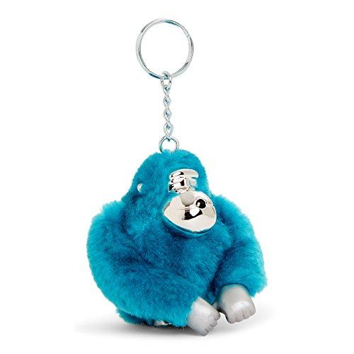 Kipling Women's Kyle Glactic Monkey Keychain One Size Polaris Blue by Kipling