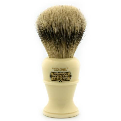 Simpsons Colonel X2L Best Badger Shaving Brush