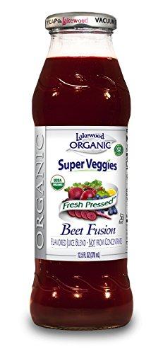 Lakewood Organic Juice Blend, Beet Fusion, 12.5 Fl Oz, (Pack of (Purple Carrot Juice)