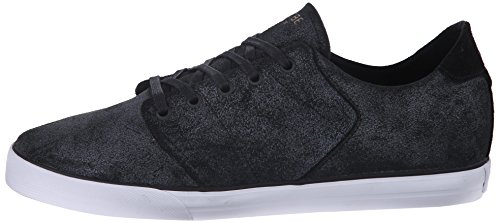 GLOBE Skateboard Shoes LOS ANGERED LOW DISTRESSED BLACK
