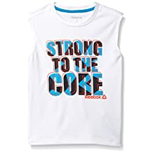 Reebok boys Strong Muscle Performance Tank