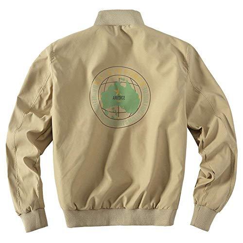 Giacche Giacche Soprabito Uomo Screenes Giacca in Cappotto Cappotto Invernali Uomo Militari khaki Cotone Giubbino Uomo 2 Giubbotto Caldo Giacche w1RRIyqEM6