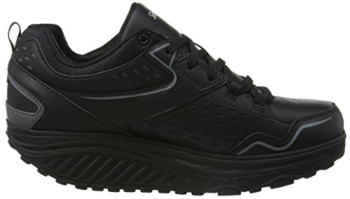 Skechers Womens Shape UPS 2.0 Perfect Comfort Fashion Sneaker Black ufa53k0