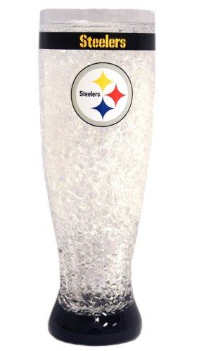Pittsburgh Steelers Crystal Pilsner (Pittsburgh Steelers 16 Oz Crystal)