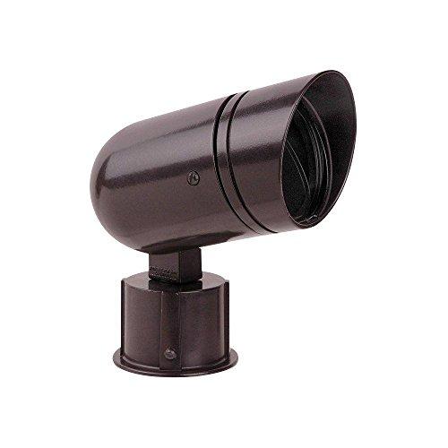 (Red Dot Sitelight 100-Watt Post Mount Spot Light Kit - Bronze)