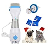 Pet Lice Combs, Womdee Allergy and Chemical Free Electric Flea Treatment Head Lice