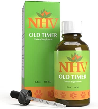 NHV Old Timer - Natural Liquid Support for Arthritis, Muscle and Joint Pain in Dogs and Cats