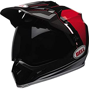Bell MX-9 Adventure Off Road Motorcycle Helmet (Barricade Red, X-Large) (Non-Current Graphic)