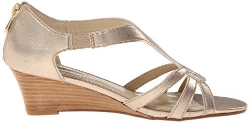 Wedge Gold Adrienne Vittadini Sandal Women's Footwear Caldre FSqR7q6A
