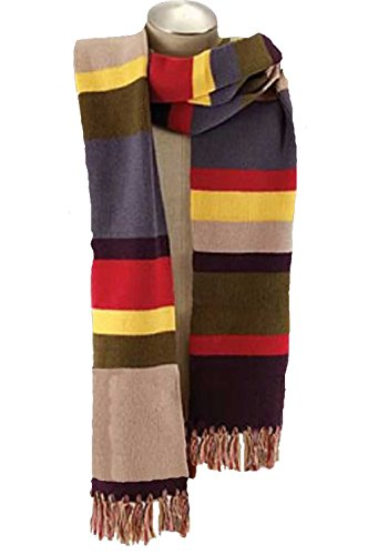 Authentic Licensed 4th DOCTOR WHO 12 FOOT GIANT KNIT SCARF Cosplay Tom Baker-NEW -