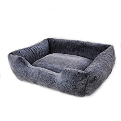 Vanderpump Pets Plush Pet Bed