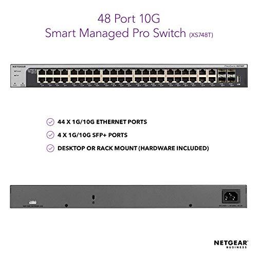 NETGEAR 48-Port 10G Ethernet Smart Managed Pro Switch